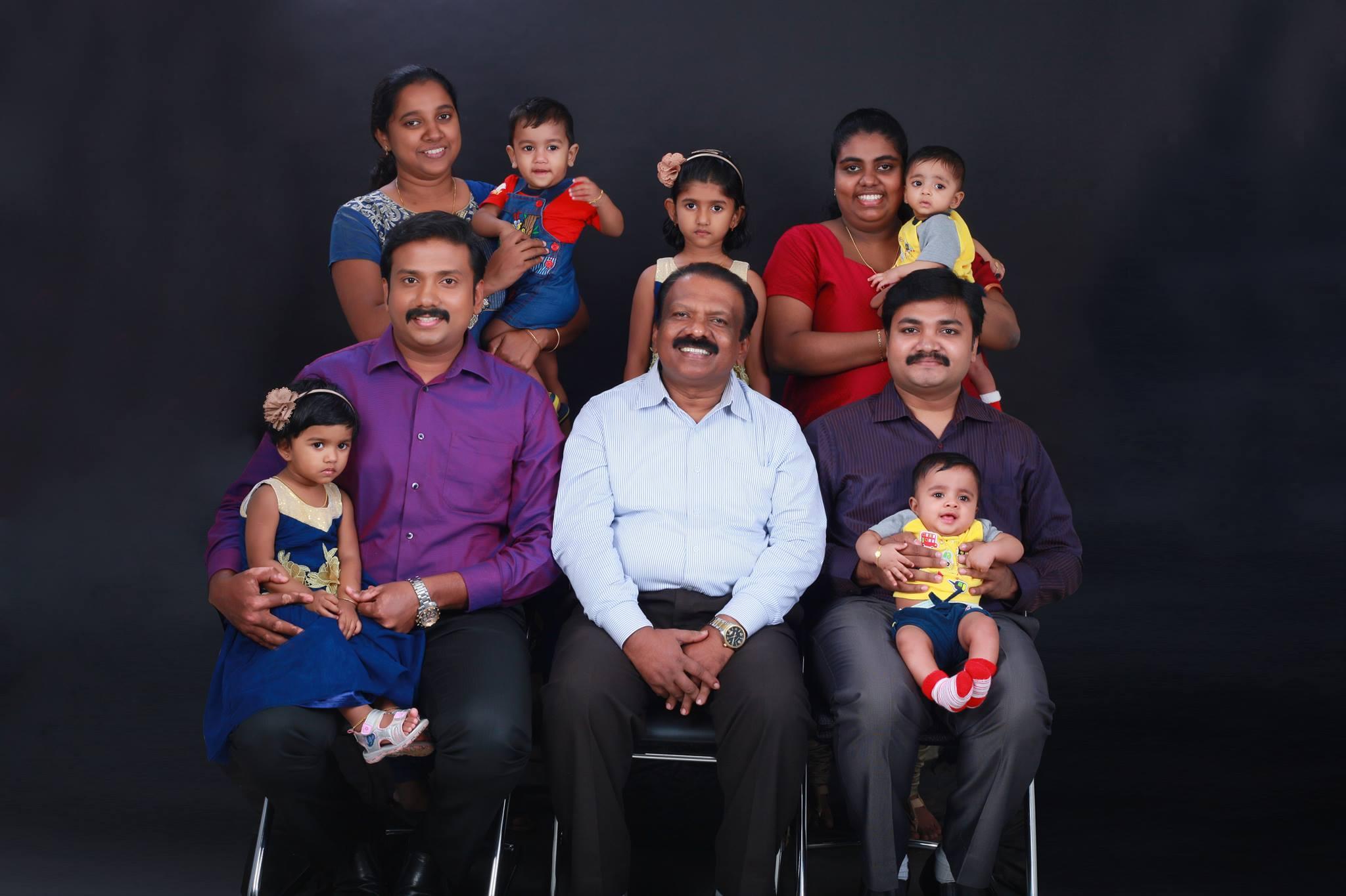 Bro. S J Manomohan & Family