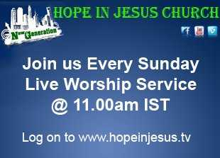 LIVE!! SUNDAY WORSHIP SERVICE