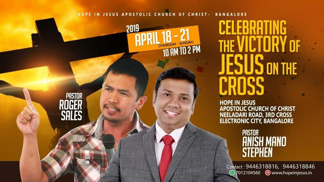 Celebrating victory of JESUS on the CROSS, Bangalore